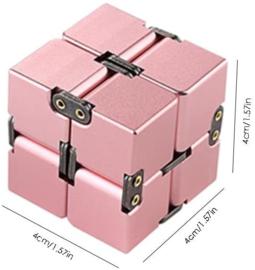 Fidget toy - Infinty Cube Roze