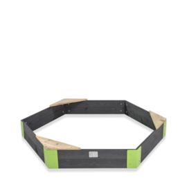 EXIT - Aksent houten zandbak zeshoek 160x140cm