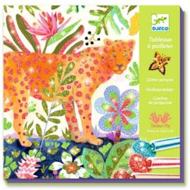 Djeco - Glitterschilderij - Tropico