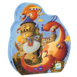 Djeco - Puzzel ridder en de draak