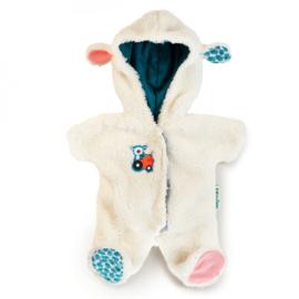 Lilliputiens - Poppen-onesie schaap