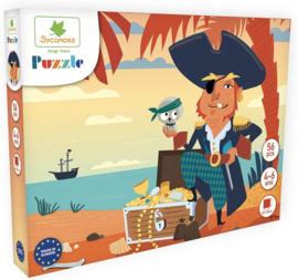 Au Sycomore - Puzzel - Piraten