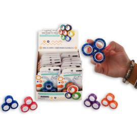 Fidget toy - Magnetic Rings Glitter (Per stuk)