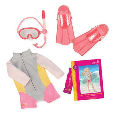 Our Generation - Coral's Read & Playset
