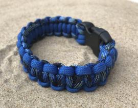 blauw zwart multi