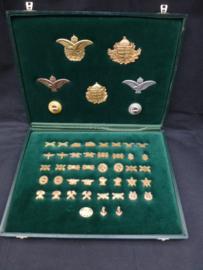 Presentatie kist Hongaarse emblemen