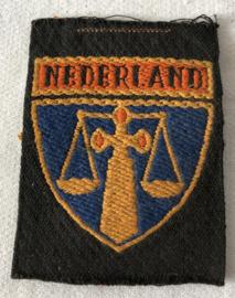 Mouwembleem Politieke Opsporingsdienst 1944