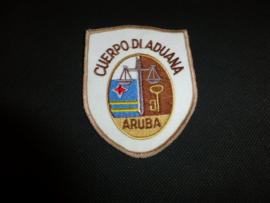 Mouwembleem Douane Aruba