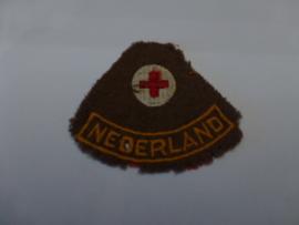 Mouwembleem Rode Kruis rond 1945
