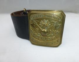 Sapeur Pompiers ceinturon  rond 1900