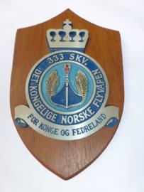 Noorse squadron  333  wandschildje