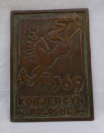 Bronzen plaquette Krijgsgevangenis kamp Stalag  369