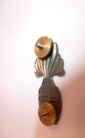 Brevet Handgranaatwerper in brons