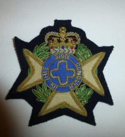 Engelse blazer badge
