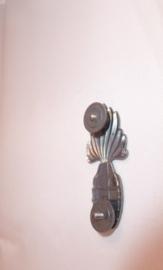 Brevet  Handgranaatwerper in Zilver