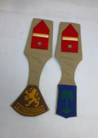 Schuifpassanten Majoor Infanterie