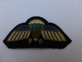 KNIL wing Parachut Pakker  , Gereserveerd !!