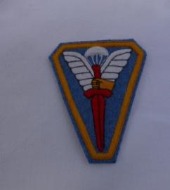 Mouwembleem School Opleiding Parachutisten in Ned-Indie