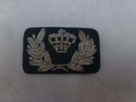 Pet embleem Douane Nederland Officier