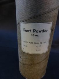 Footpowder ww2