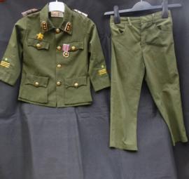 Militaire kinder uniform