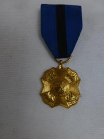 Gouden medaille Leopold II