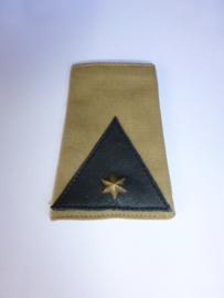 Schuifpassant Luitenant KNIL