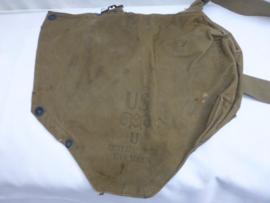 US Gasmasker khaki  tas