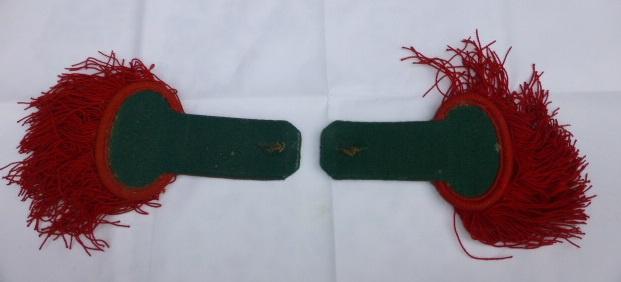 Epaulettes de Tradition   Legion Etrangere