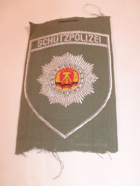 Schutzpolizei geweven mouwembleem
