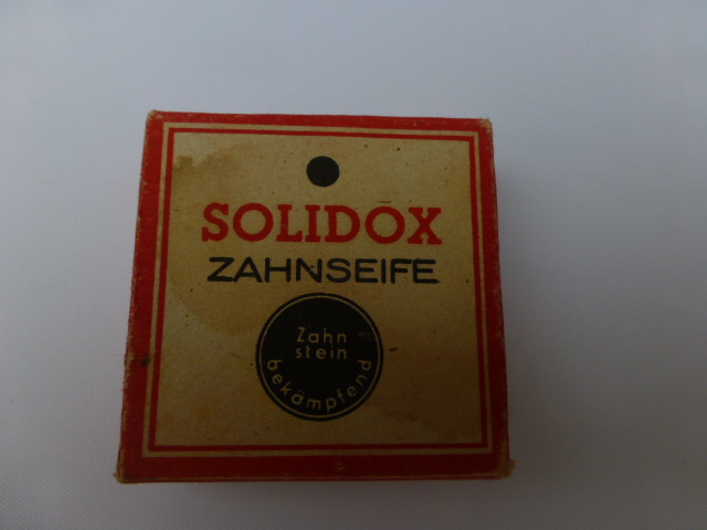 Duitse   Solidox Zahnseife