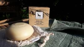 Olijfzeep, sisal washandje + GRATIS handdoek