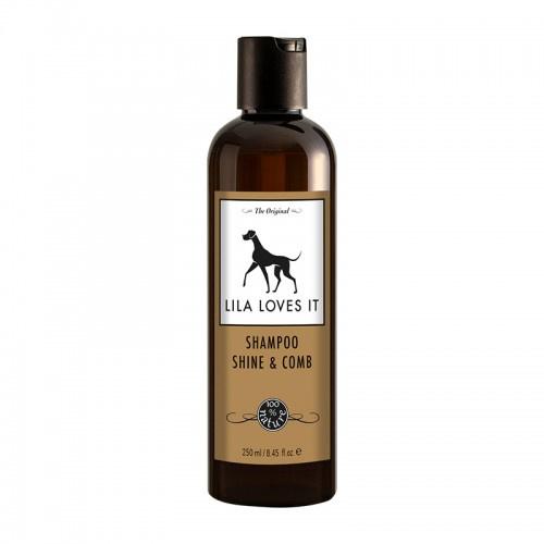 Lila Loves It Shampoo Shine and Comb 250ml
