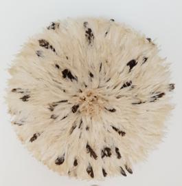 Juju wit zwart/bruin 80 cm
