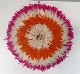 Juju wit oranje roze 80 cm