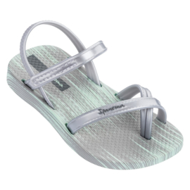 IPANEMA FASHION SANDAAL BABY - GREEN/SILVER