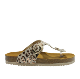DEVELAB SLIPPER - BROWN COMBI