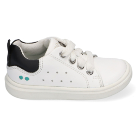BUNNIESJR SNEAKER - KIKI KING - WHITE/BLACK