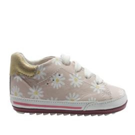 SHOESME BABYSNEAKER - PINK FLOWER
