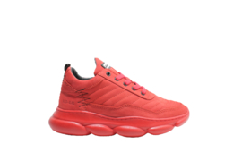 RED-RAG SNEAKER - RED NUBUCK