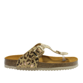 DEVELAB SLIPPER - BEIGE COMBI FANTASY