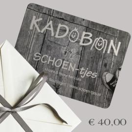 KADOBON 40 EURO
