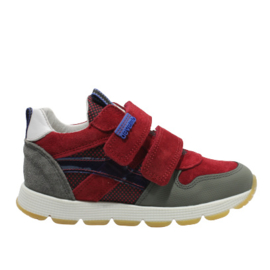 DEVELAB KLITTENBAND SNEAKER - RED FANTASY