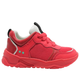 BUNNIESJR SNEAKER - CHARLY CHUNKY - RED