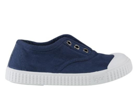 IGOR CANVAS SCHOEN - NAVY