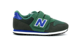 NEW BALANCE SNEAKER YV373KE - GREEN/NAVY
