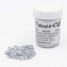 Pavercolor Zilver, 40 ml