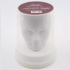 Plaster head Robin 16 cm
