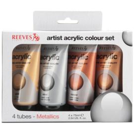 Reeves Metallic Acryl Kit