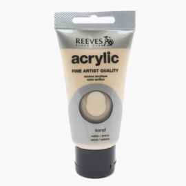 Reeves Acrylic Paint Sand, tube 75 ml